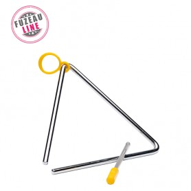 LOT DE 10 TRIANGLES FUZEAU 16 CM