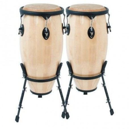 LOT DE 2 CONGAS NATURELLES