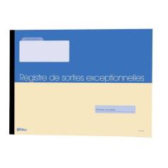 REGISTRE DE SORTIES EXCEPTIONNELLES