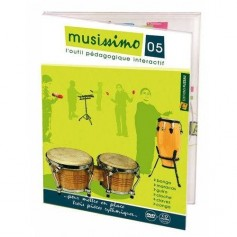 DVD MUSISSIMO VOL 5 POUR PERCUSSIONS