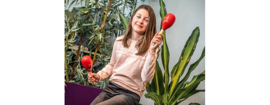 Maracas, hochets