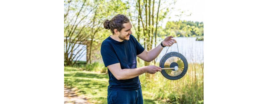 Gong, tambour, bol chinois...