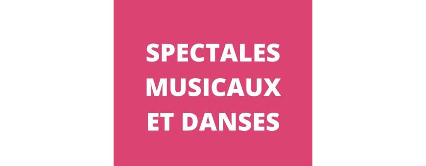 Spectacles musicaux et Danses