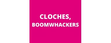 Cloches, boomwhackers