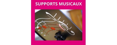Supports musicaux