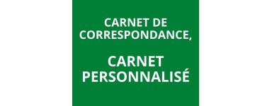 Carnet de correspondance, carnet personnalisé