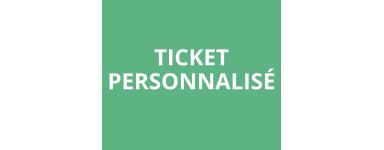 Ticket personnalisé (cantine, tombola...)