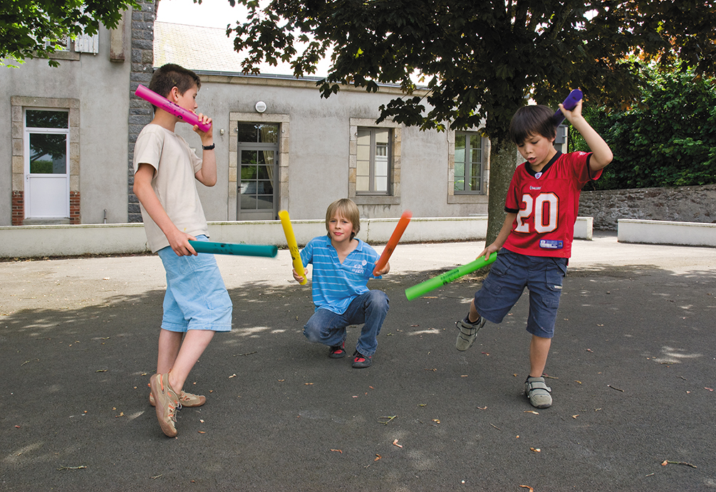Jeu collectif : les boomwhackers
